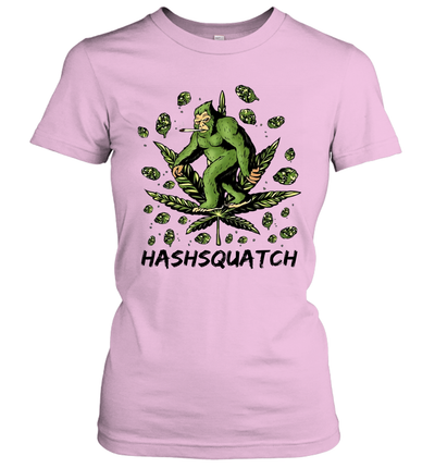 Hashsquatch Funny Bigfoot Weed Shirt