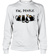 Ew people Meowy Funny Cat Lovers Gift Shirt