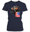 Labrador American Flag 4th Of July Shirt Funny Independence Day American Gift