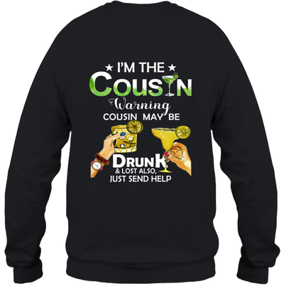 I'm The Bestie Warning Bestie Maybe Drunk And Lost Also Just Send Help Shirt