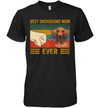 Best Dachshund Mom Ever Bump Fit Vintage Shirt