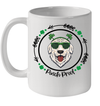 Golden Retriever Irish Creme Shamrock Dog St Patrick's Day Mug