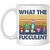 Cactus What The Fucculent Vintage Mug