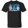 Three Gnomes In Blue Costume Christmas Gift Funny Xmas Shirt