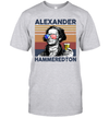 Alexander Hammeredton US Drinking 4th Of July Vintage Shirt Independence Day American Gift