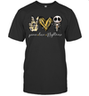 Jack Skellington Peace Love Nightmare Shirt