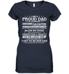 I Am A Proud Dad Of A Freaking Awesome Daughter Shirt