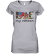 Love My Veteran Shirt 4th Of July Shirt Funny Independence Day American Gift
