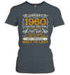 January 1960 Shirt 60 Years Old 60th Birthday Gifts Shirt