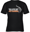 Funny Cigar Smoker Gift Shirt Only Great Men Smoke Cigars Shirt