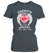 Rose Wings Daddy's Girl I Used To Be His Angel Now He's Mine Shirt