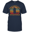 Groundhog Whisperer Silhouette Vintage Gift Ground Hog Day Shirt