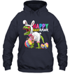 Happy Eastrawr T-Rex Dinosaur Easter Bunny Egg Costume Kids Shirt