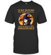 Witch In My Defense The Moon Was Full And I Was Left Unsupervised Halloween Shirt