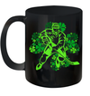 St Patrick's Day Hockey Irish Boys Saint Paddys Shamrock Mug