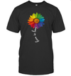 Love Is Love Rainbow Sunflower Lgbt Gay Lesbian Pride Shirt
