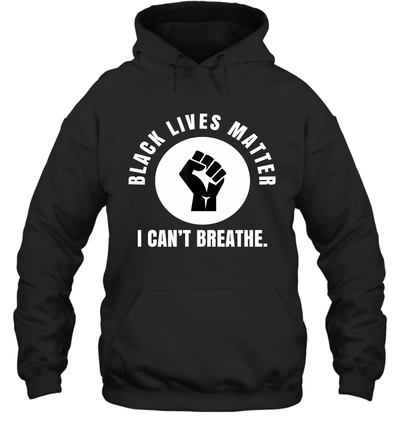 Black Lives Matter I Can't Breathe Shirt
