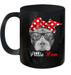 Pittie Mom Mug For Pitbull Dog Lovers Mothers Day Gift
