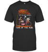 Jack Skellington Sally And Zero Riding Bicycle It's The Most Wonderful Time Of The Year Shirt