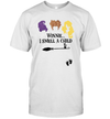 Hocus Pocus Winnie I Smell A Child Pregnancy Shirt