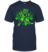 St Patrick's Day Hockey Irish Boys Saint Paddys Shamrock Shirt