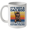 Bear Beer It's Not A Dad Bod It's A Father Figure Vintage Mug Funny Father's Day Gift