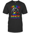 Free Dad Hugs Bear Lover Rainbow Lgbt Pride Shirt