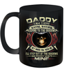 Daddy I Am There Waiting Watching Keeping To The Shadows Mug