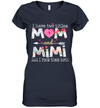 I Have Two Titles Mom And MiMi And I Rock Them Both Shirt Funny Mother's Day Gifts
