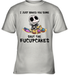 Jack Skellington I Just Baked You Some Shut The Fucupcakes Shirt
