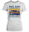 Rock Hard Calking Services You Got A Hole We'll Put Our Calk In It Vintage Shirt