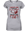 Daddy's Girl I Used To Be His Angel Now He's Mine I Miss You Dad Shirt