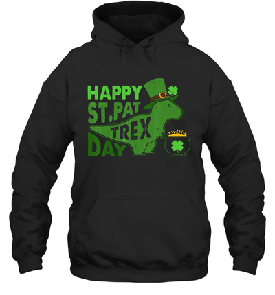 Happy St.Pat T-Rex Day Dinosaur St Patrick's Day Shirt