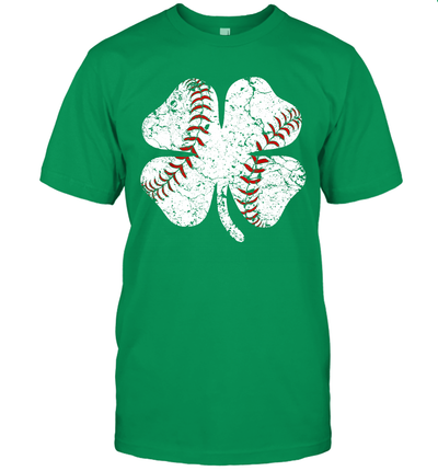 Baseball St Patricks Day Gift Boy Men Catcher Shamrock Shirt