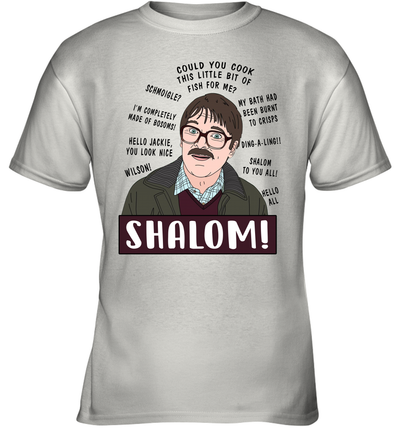 Shalom Could You Cook This Little Bit Of Fish For Me Shirt