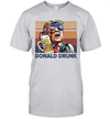 Donald Trump drunk US Drinking 4th Of July Vintage Shirt Independence Day American Gift