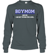 BoyMom And No I Am Not Trying For A Girl Shirt