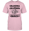 Grandma And Grandson A Bond That Can't Be Broken Funny Shirt Mother's Day Gift