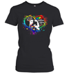Proud Mom Autism Awareness Shirt Cute Family Matching Gift T-Shirt