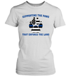 Supporting The Paws That Enforce The Laws Shirt