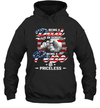 Being A Dad Is An Honor Being A Pepe Is Priceless American Flag Shirt Funny Father's Day Gift