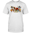 Thanksgiving Dinosaur T-Rex Turkey Rawr Funny Shirt