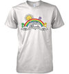 Bear Rainbow I Hate People Shirt Funny Sun T-Shirt