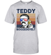 Teddy Boozedevelt US Drinking 4th Of July Vintage Shirt Independence Day American T-Shirt