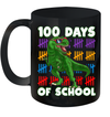 100 Days Of School 100Th Day Dino Mug