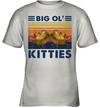 Big Ol' Kitties Vintage Funny Big Cat Lover Shirt
