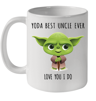 Yoda Best Uncle Love You I Do Mug Funny Father's Day Gifts