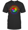 Rainbow Black Lives Matter Science Lgbt Pride Flower Daisy Shirt