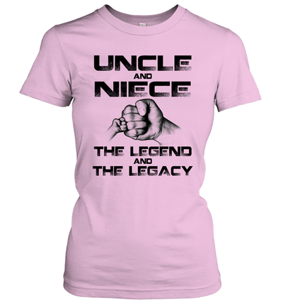 Uncle And Niece Matching The Legend And The Legacy Funny Shirt