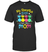 My Favorite Peeps Call Me Mom With Bunny Funny Easter Day Shirt